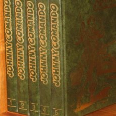 Cómics: JOHNNY COMANDO Y GORILA - 5 TOMOS - COMPLETA. Lote 26451891