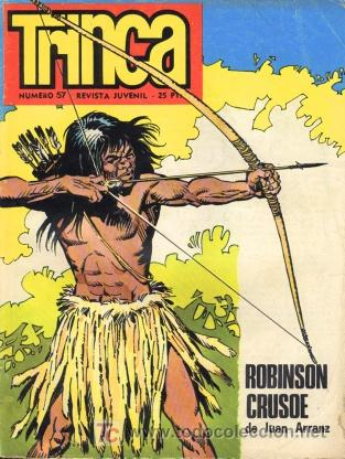 TRINCA, Nº 57. EDITORIAL DONCEL, 1973. (FALTAN PÁGINAS 49 Y 50) (Tebeos y Comics - Comics otras Editoriales Actuales)