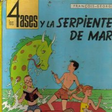 Cómics: LOS 4 ASES Y LA SERPIENTE DE MAR (OIKOS-TAU) ORIGINAL 1968 1ª EDICION. Lote 26639996