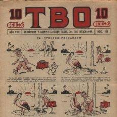 Fumetti: TBO. Nº 826. AÑO 1933. Lote 21120154