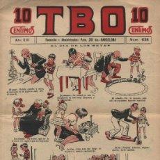Comics : TBO. Nº 636. AÑO 1929. Lote 21120156