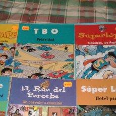 Cómics: LOTE DE 6 COMICS QUE SE JUNTARON CON EL PERIODICO. Lote 26233067