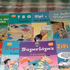 Cómics: LOTE DE 8 COMICS LANZADOS POR EL PERIODICO. Lote 25939214
