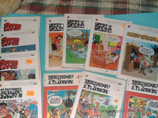 LOTE 11 COMICS LANZADOS POR LOS PERIODICOS (Tebeos y Comics - Comics Colecciones y Lotes Avanzados)