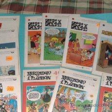 Cómics: LOTE 11 COMICS LANZADOS POR LOS PERIODICOS. Lote 25939215
