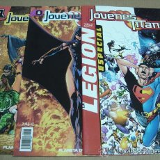 Cómics: 3 COMICS JOVENES TITANES EDICION PLANETA DC NUMEROS 1.8. Y ESPECIAL . Lote 24832024