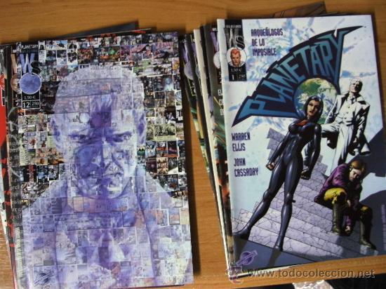 PLANETARY VOL. 1 ¡ LOTE 9 NUMEROS ! WORLDCOMICS - IMAGE / POSIBILIDAD DE NUMEROS SUELTOS (Tebeos y Comics - Comics Pequeños Lotes de Conjunto)