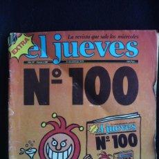 Cómics: EL JUEVES. ESPECIAL Nº 100. DIFICIL DE ENCONTRAR. . Lote 27620026