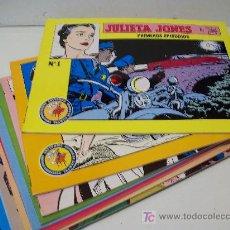 Cómics: JULIETA JONES (STAN DRAKE), ED. ESEUVE, LOTE 10 EJEMPLARES (DEL 1 AL 10). Lote 26963477