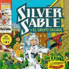 Cómics: SILVER SABLE Y EL GRUPO SALVAJE (PLANETA-DEAGOSTINI, FORUM) ORIGINAL COLECCION COMPLETA. Lote 27593899