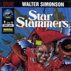 Cómics: STAR SLAMMERS - 5 EJEMPLARES, COLECCIÓN COMPLETA - NORMA EDITORIAL 1995. Lote 12510034