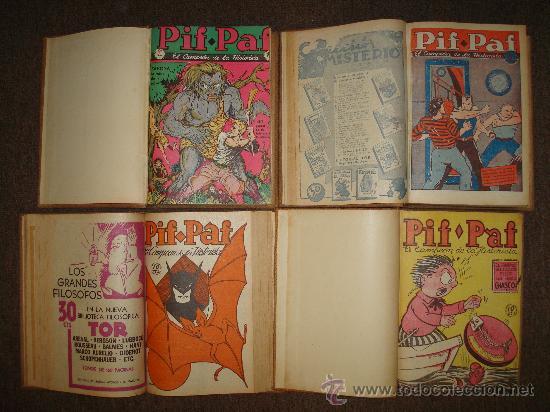 PIF PAF-1939-TOR-TEBEOS-LIBROS-REVISTAS-COLECCION-PULPS-CUENTOS-COMICS (Tebeos y Comics - Comics Colecciones y Lotes Avanzados)