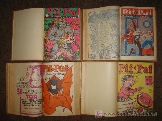 Cómics: PIF PAF-1939-TOR-TEBEOS-LIBROS-REVISTAS-COLECCION-PULPS-CUENTOS-COMICS - Foto 3 - 24532690