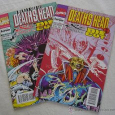 Cómics: DEATH'S HEAD II & EL ORIGEN DE DIE CUT - COMPLETO 2 EJEMPLARES - MARVEL - BARCELONA.. Lote 24856160