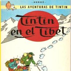 Cómics: HERGÉ - LAS AVENTURAS DE TINTIN - TINTIN EN EL TIBET - EDICION DE 1996. Lote 21971090