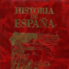 Cómics: HISTORIA DE ESPAÑA - 14 TOMOS - COLECCIÓN COMPLETA, ENCUADERNACIÓN DE LUJO - ED. GENIL 1986. Lote 110436427