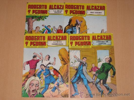 ROBERTO ALCAZAR Y PEDRIN - 2ª EPOCA NºS 195 Y 212 (Tebeos y Comics - Comics Pequeños Lotes de Conjunto)