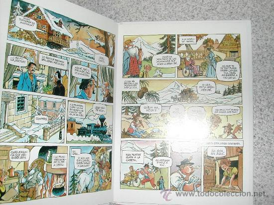 Cómics: HEIDI TAPAS DURAS. RARO COMIC EN ALGUERES (VARIANTE ITALIANA - ALGUER - DEL CATALAN) - Foto 2 - 26873052