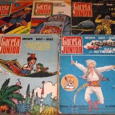 Cómics: GACETA JUNIOR NºS 1-2-3-4-5. UNIVERSO INFANTIL 1968. 10 PTS. DIFÍCILES!!!!!!!!!!!!. Lote 12849069
