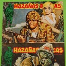 Cómics: LOTE DE 2 -HAZAÑAS BÉLICAS N 87 Y 88. Lote 26994215