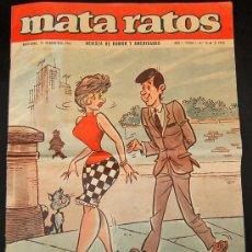 Cómics: REVISTA DE HUMOR -MATA RATOS- DE 1965. Lote 26994217