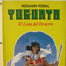 Comics: YUGURTA Nº 1. EL LEON DEL DESIERTO - DISTRINOVEL. Lote 55370393