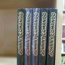 Cómics: JOHNNY COMANDO Y GORILA ¡ COMPLETA 5 TOMOS !. Lote 13415657