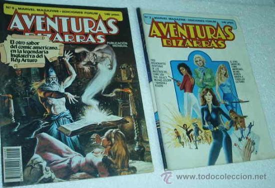 AVENTURAS BIZARRAS - NUMEROS 2 Y 5 -- MARVEL -- FORUM-IMPORTANTE LEER TODO (Tebeos y Comics - Comics Pequeños Lotes de Conjunto)