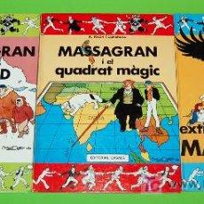 Cómics: 3 COMICS DE EN MASSAGRAN. Lote 26931264