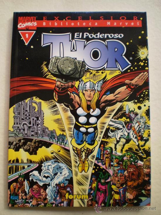 BIBLIOTECA MARVEL THOR COMPLETA 37 NUMEROS.VER NOTA DESCRIPCION. (Tebeos y Comics - Comics Colecciones y Lotes Avanzados)