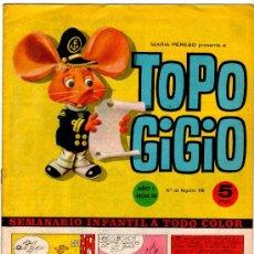 Cómics: TOPO GIGIO Nº 10, SEMIC ESPAÑOLA DE EDICIONES. Lote 13884344