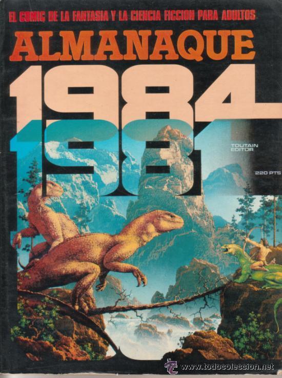 1984 COLECCION COMPLETA 1 ª EDICION (64 EJEMPLARES) + EL ALMANAQUE PARA 1981 - EDITORIALTOUTAIN (Tebeos y Comics - Comics Colecciones y Lotes Avanzados)