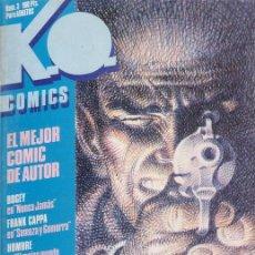 Cómics: KO COMICS Nº 3 CON WILL EISNER - ALEX TOTH - SOMMER - ORTIZ - L. SANCHEZ - METROPOL 1983 . Lote 20846742