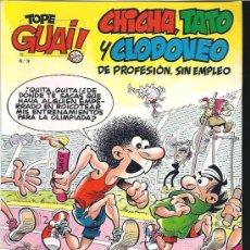 Cómics: CHICHA TATO Y CLODOVEO 9. Lote 14170664