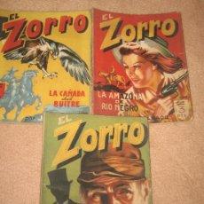 Comics - LOTE DE 3 COMICS EL ZORRO - Nº 11, 12, 13 - 14315309
