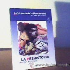 Cómics: LA PREHISTORIA EL ORIGEN DEL HOMBRE;EL MUNDO 2004. Lote 14297264