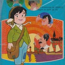 Cómics: MARCO (SEGÚN LA SERIE DE TELEVISIÓN). JAIMES LIBROS 1977. COLOR 32X23CM 64 PAGINAS. Lote 24970149