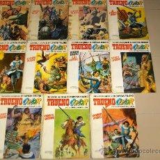 Cómics: TRUENO COLOR EXTRA ALBUM BLANCO COMPLETA 1 2 3 4 5 6 7 8 9 10 11 BRUGUERA REGALO CORREO REINA SIGRID. Lote 14329883