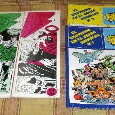 Cómics: FAZ DEL COMIC ESPECIAL COLECCIONISTAS 1 Y 2 ZATA. VALLADOLID 1983. REGALO: EROTISMO COMIC 1 Y 2!!!!!. Lote 20400586