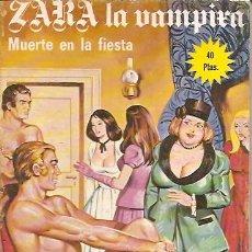 Cómics: ZARA LA VAMPIRA Nº 18 ELVIBERIA 1976. Lote 15037394