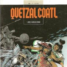 Cómics: QUETZAL COALT 6 NUMEROS PUBLICADOS GELANT TAPAS DURAS. Lote 27217559