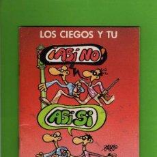 Cómics: LOS CIEGOS Y TU - ONCE - DIBUJOS FORGES - 1988.. Lote 15216198