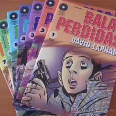Cómics: BALAS PERDIDAS. DAVID LAPHAM. LOTE DE 13 NÚMEROS. EDICIONES LA CÚPULA.. Lote 27492744