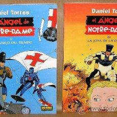 Cómics: DANIEL TORRES 6 7 - EL ÁNGEL DE NOTRE-DAME: MECÁNICO.. LA JOYA... - COMPLETA - NUEVOS (PRECINTADOS). Lote 121679454