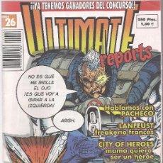 Cómics: ULTIMATE REPORTS VOL.2 Nº 26 AMAMOS A ROB. Lote 15235811