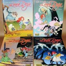 Fumetti: CARLOS TRILLO - LOS MISTERIOS DE LA LUNA ROJA - NºS 1 2 3 4 COMPLETA - NUEVOS (PRECINTADOS). Lote 107084302