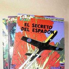 Comics: BLAKE Y MORTIMER Nº 9, 10 Y 11. EL SECRETO DEL ESPADÓN. RESERVADO PARA C*****S. Lote 27147223