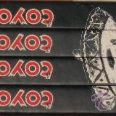 Cómics: EL COYOTE - COMPLETA - 4 TOMOS - ED. AGUALARGA. Lote 26861962