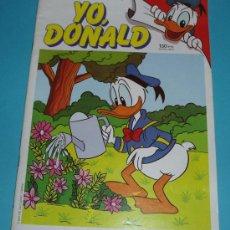 Cómics: YO, DONALD Nº 11 . TAMAÑO 19 X 26,5. Lote 15617357