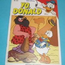 Cómics: YO, DONALD Nº 20 . TAMAÑO 19 X 26,5. Lote 15617370